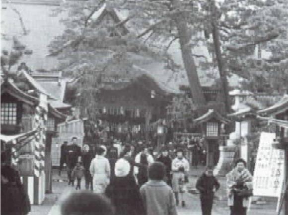 白山神社の様子
