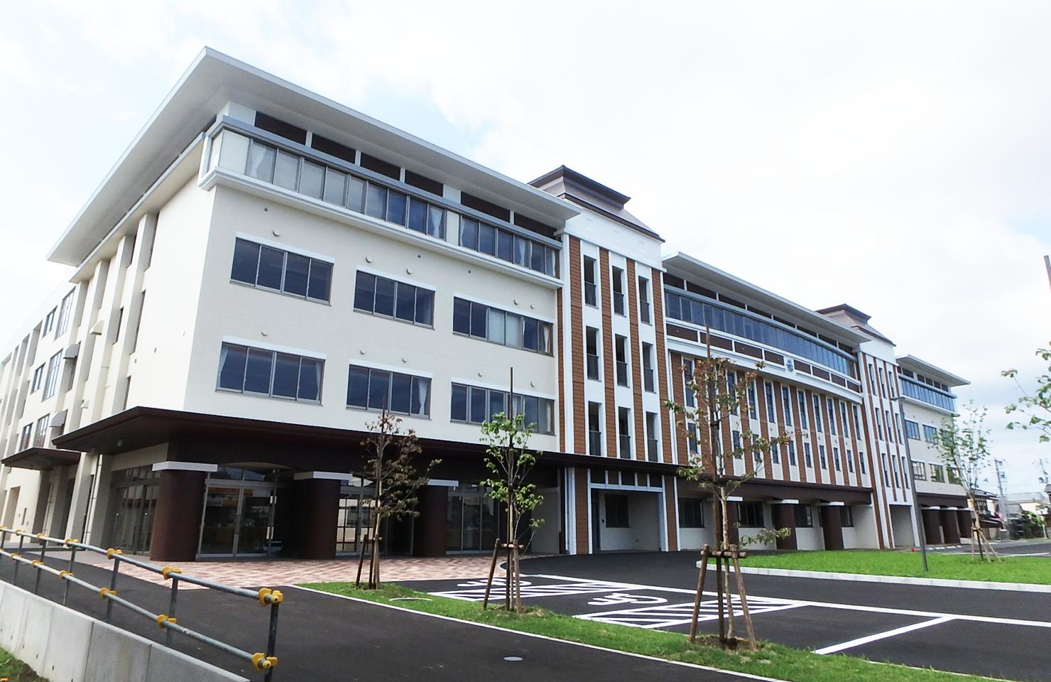 新潟の建設実績 新潟商業高等学校