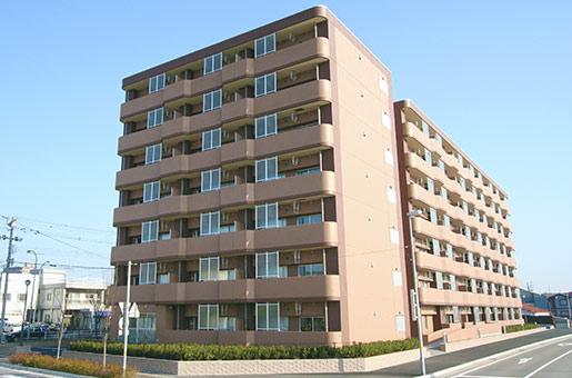 関屋大川前住宅 建築本体工事