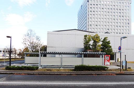 県庁舎構内駐車場他 整備建築工事