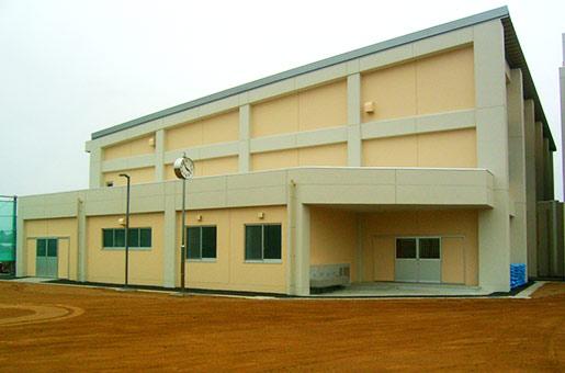 両川小学校 屋内体育館建設工事