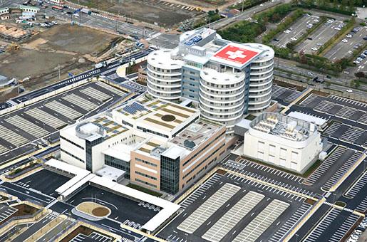 新潟市民病院 移転新築工事