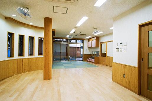 保育園の改築工事