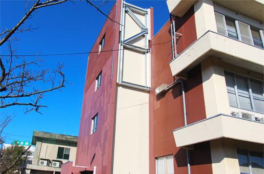 新潟地域振興局巻庁舎 階段室耐震補強・耐震改修
