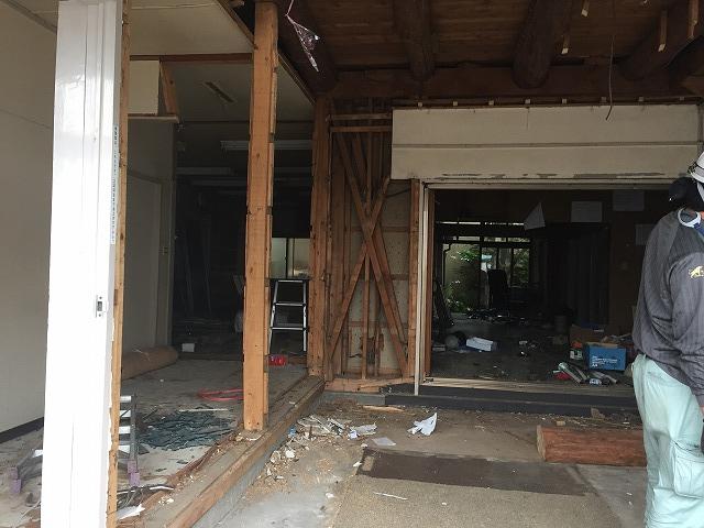 旧社屋の解体