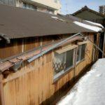 雪害による屋根修繕工事