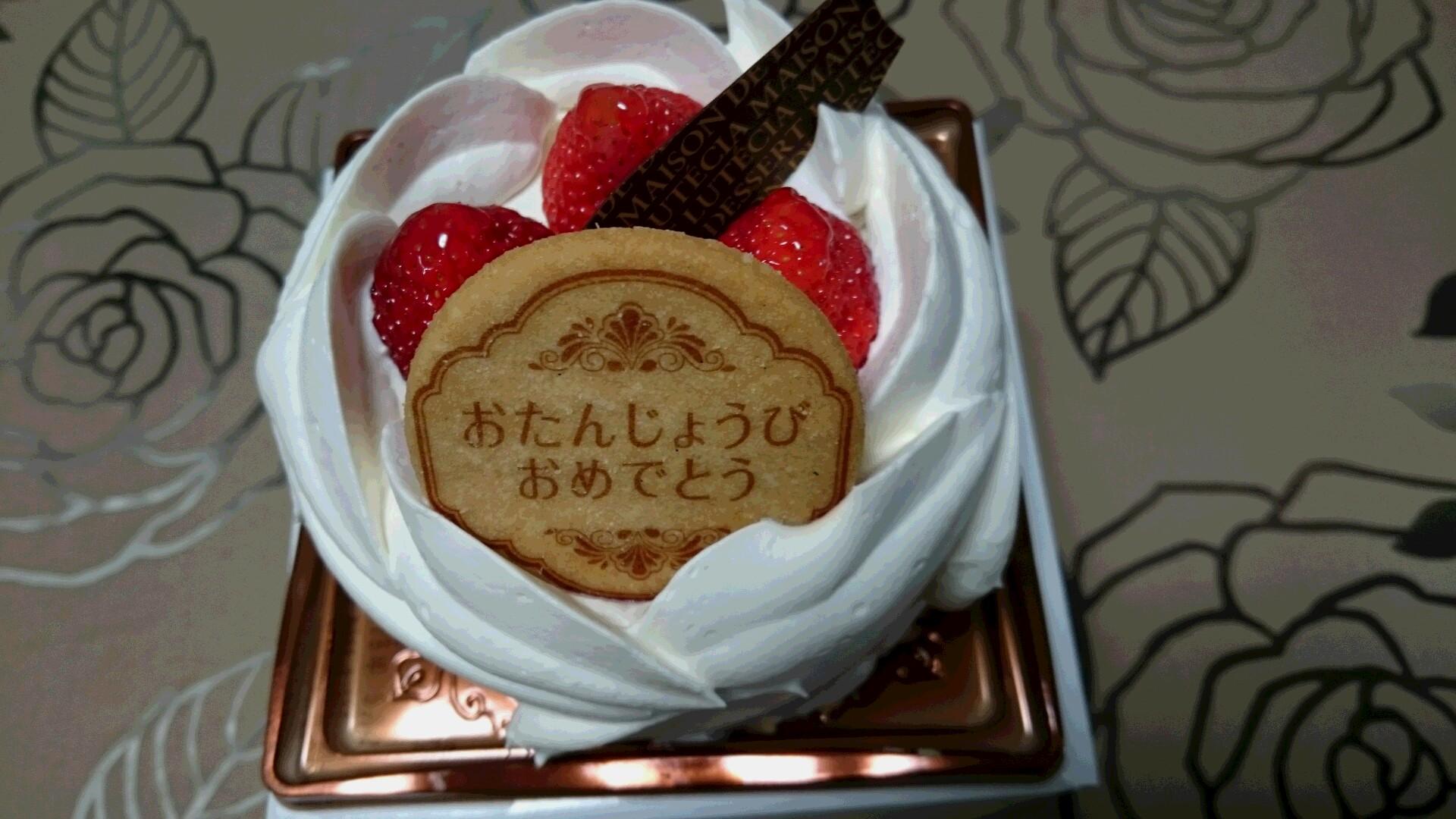 誕生月ケーキ+α