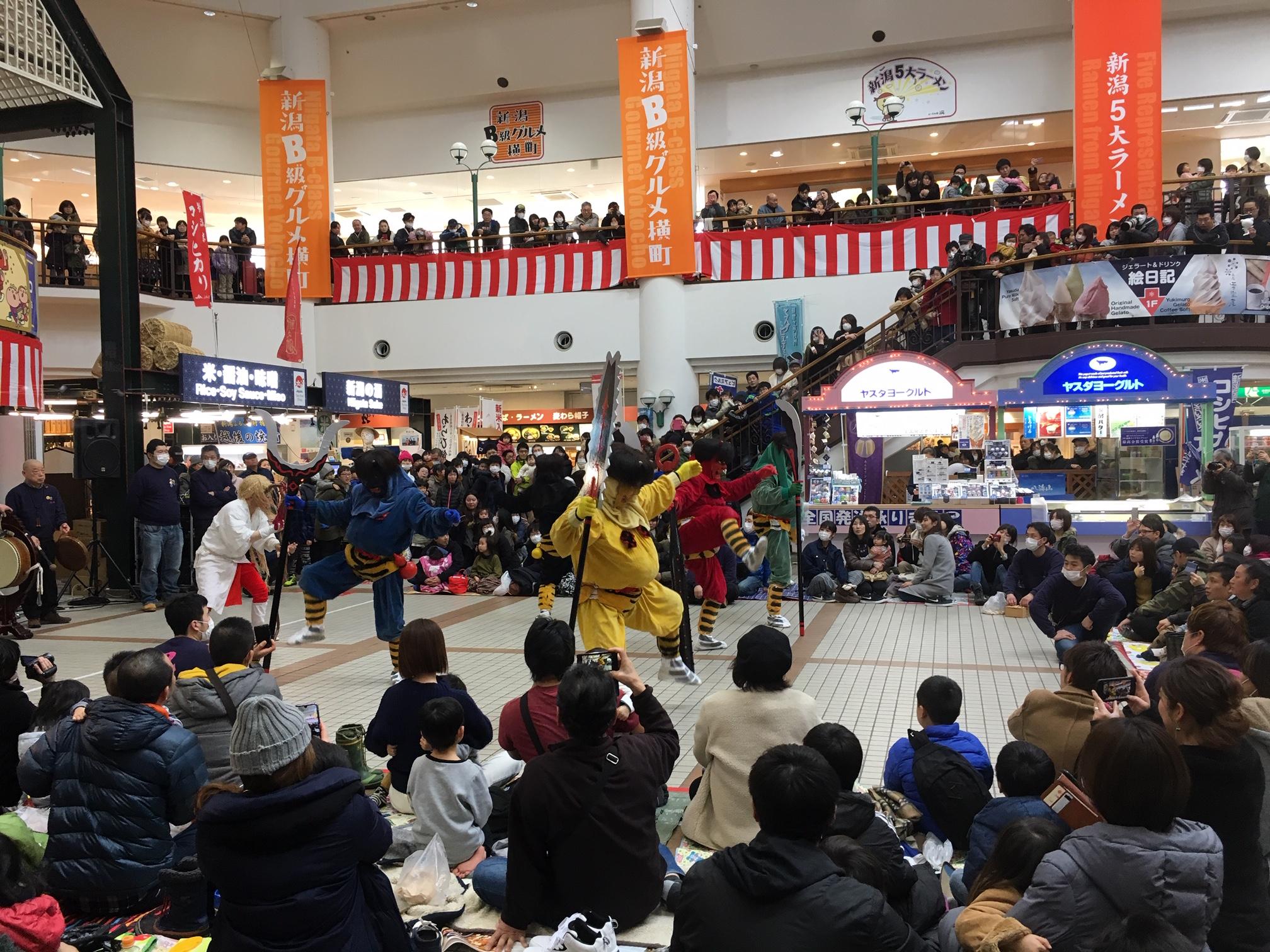 -三条本成寺鬼踊りin新潟ふるさと村-