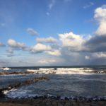 お正月の日本海