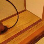 杉磨き丸太 床框