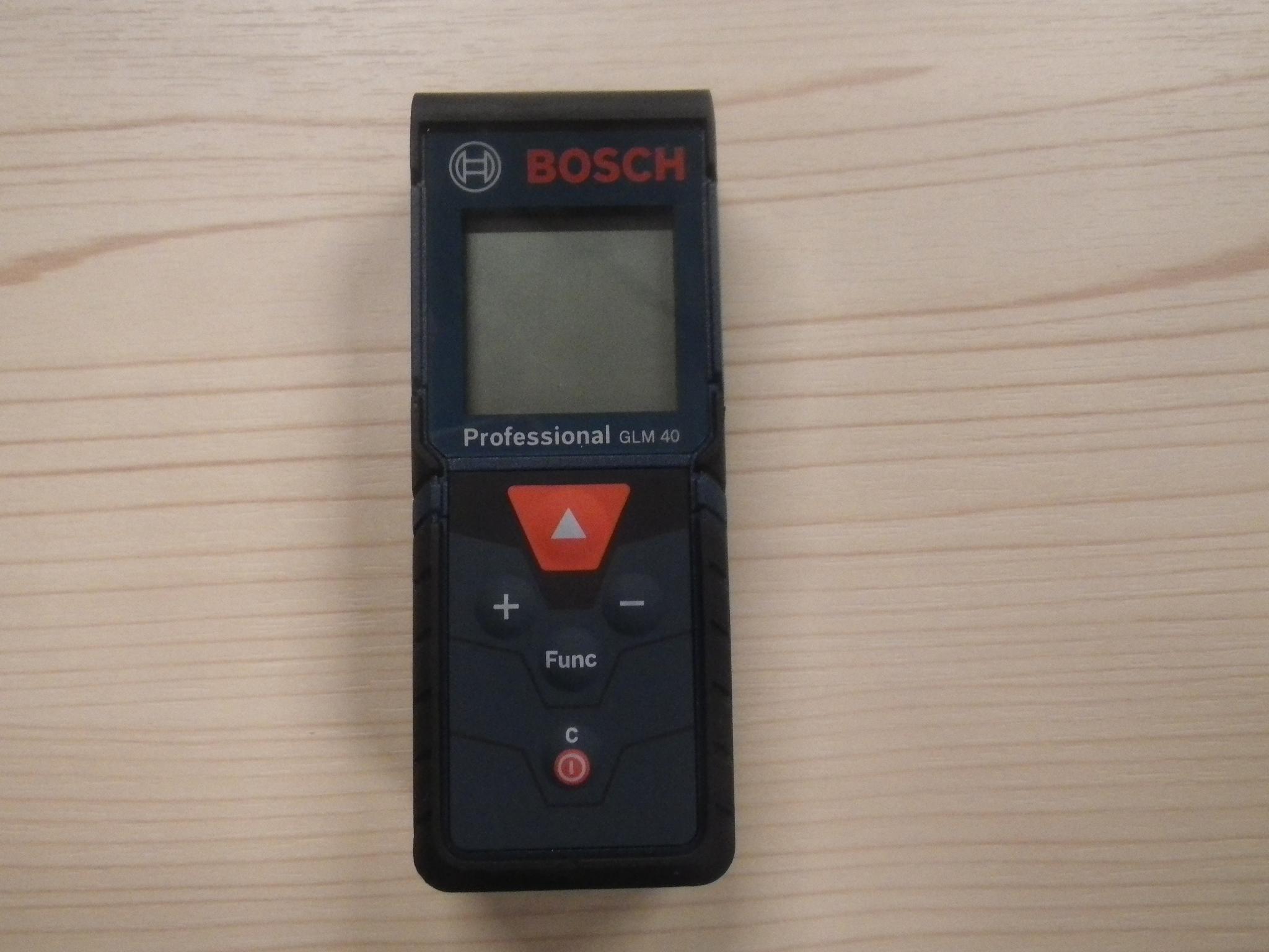 BOSCHレーザー距離計
