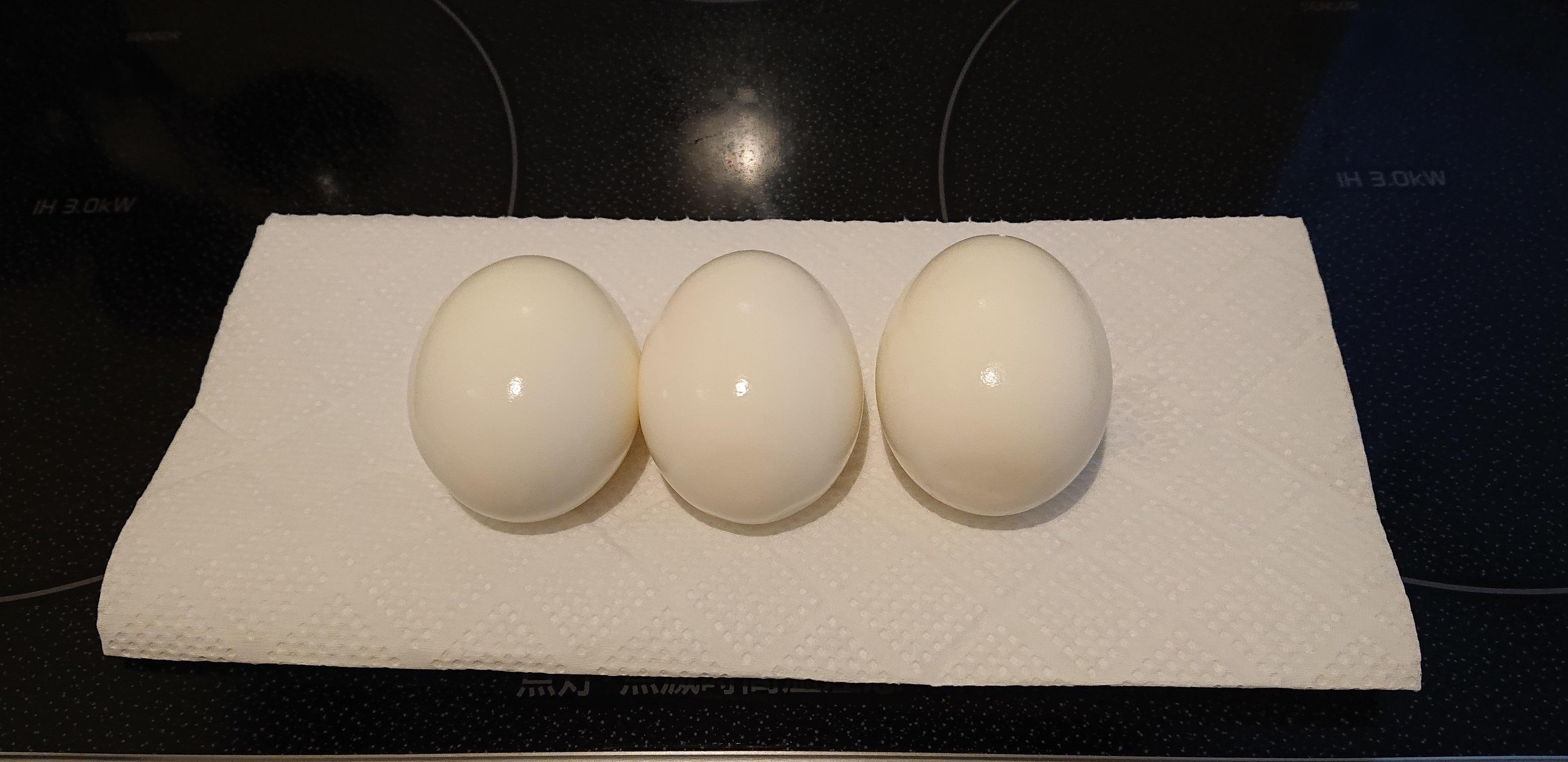 つるつるの卵