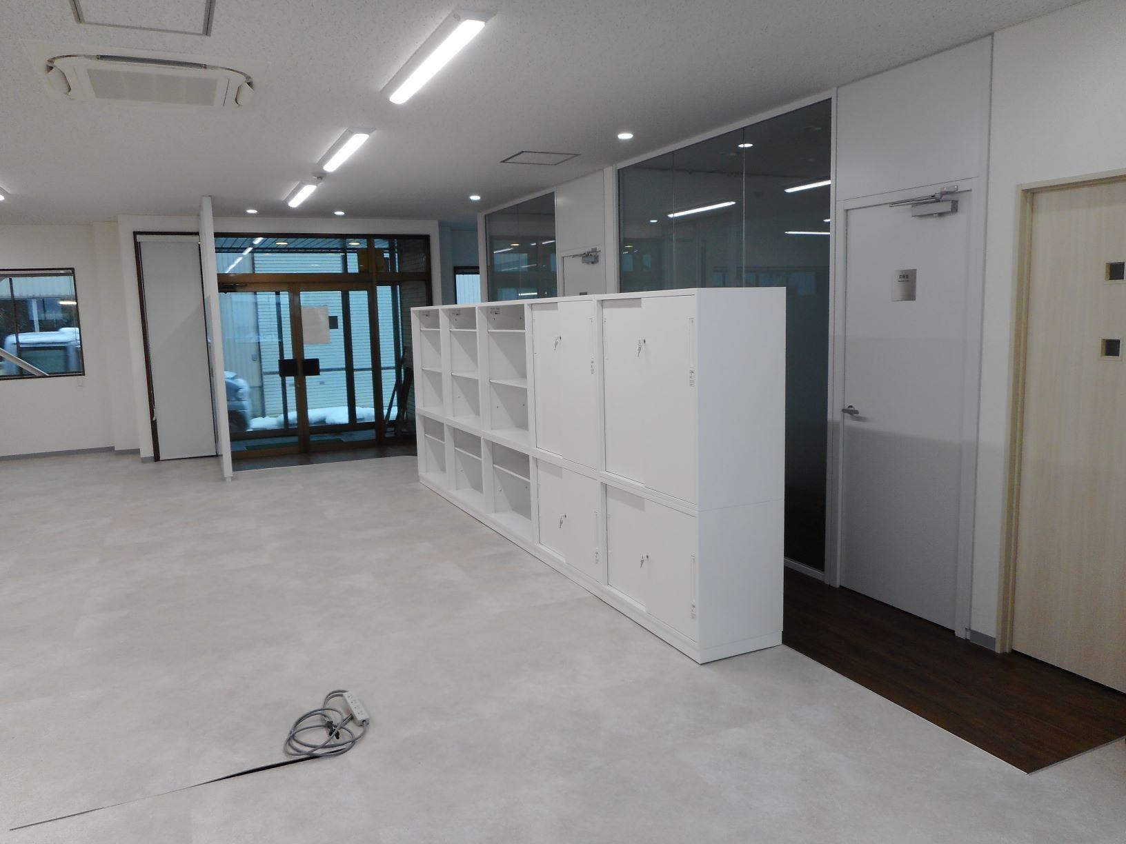 事務所の改修工事