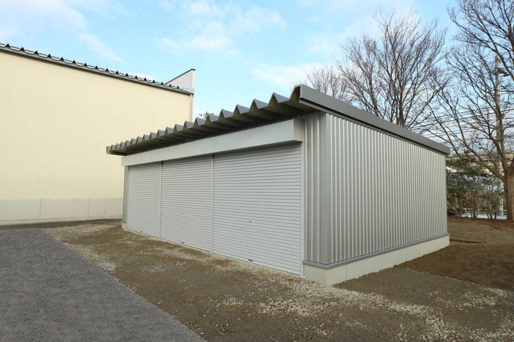 工業技術総合研究所車庫改修工事