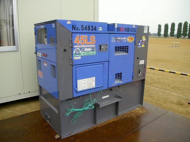 仮設電源用発電機