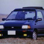 私の愛車遍歴 2台目の愛車フォードフェスティバキャンバストップ