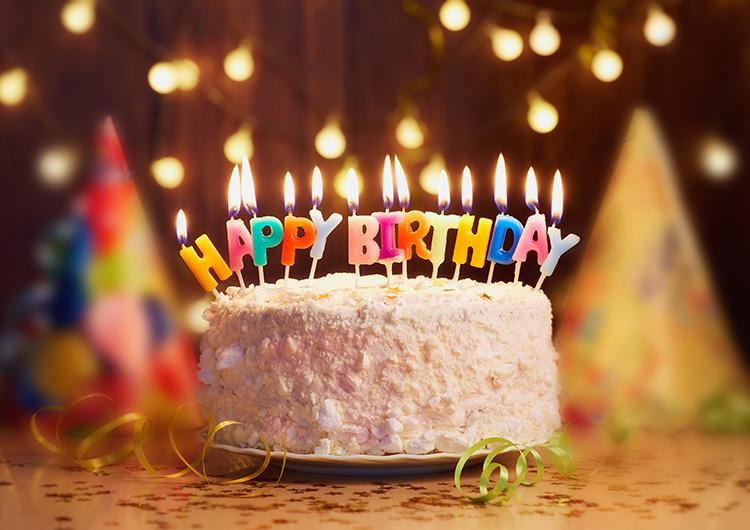 誕生日を迎えました!