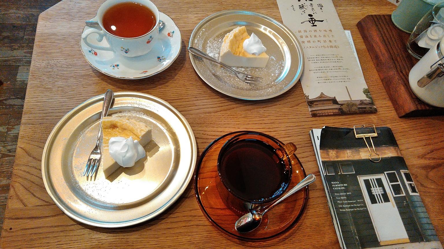 沼垂テラス冬市場の喫茶