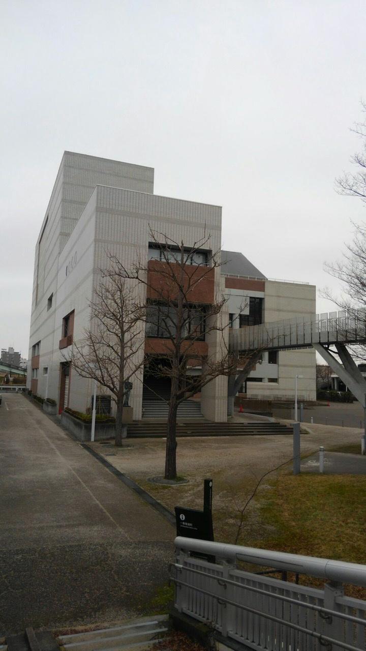 「新潟市音楽文化会館外壁改修工事が完成しましまた!」