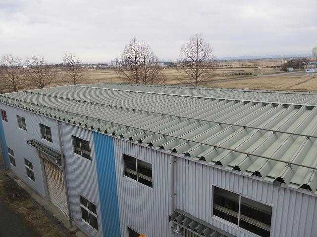 屋根改修!