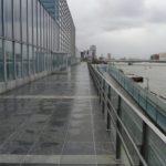 「新潟コンベンションセンターデッキ先端見切改修工事が完成しました!」