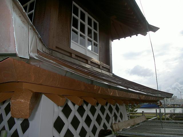 歴史的建造物銅板葺き②