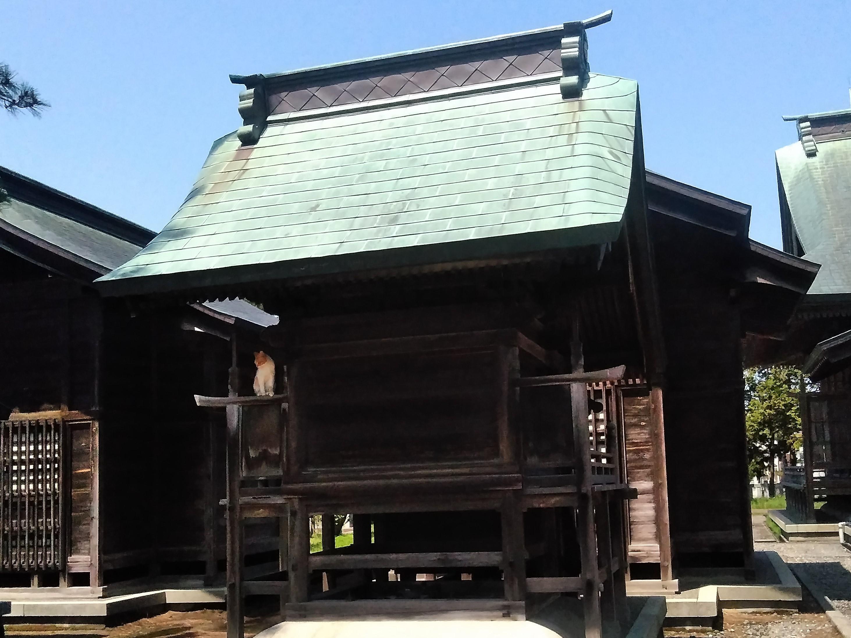 新潟市西区大野町諏訪社