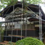 「築99年の米蔵リノベーション工事もいよいよ完成間近です!」