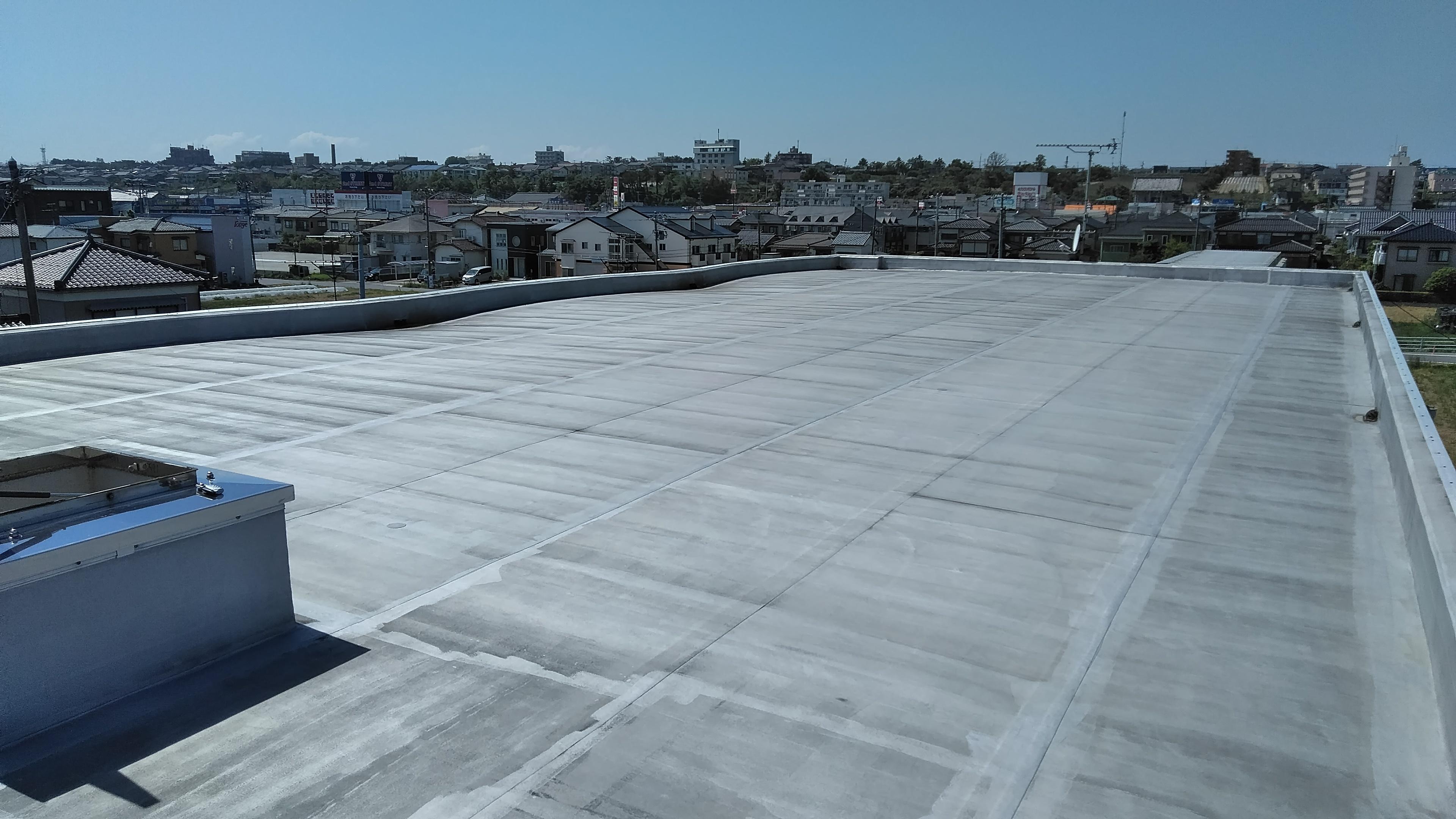 マンション屋上防水工事が完了しました!