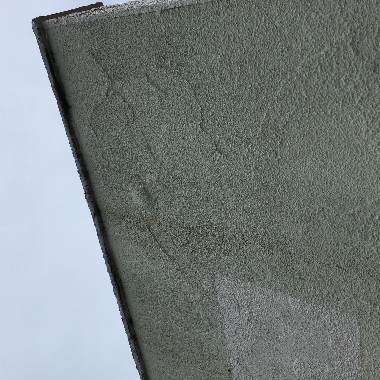 外壁に水膨れ?