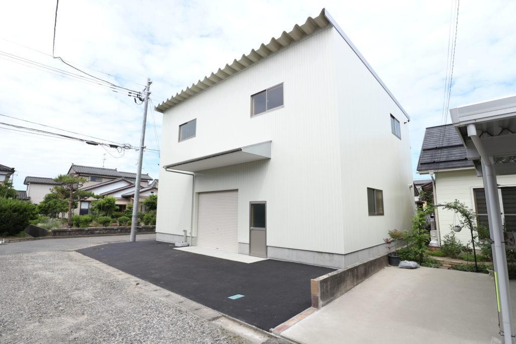 新潟総合紙器様倉庫新築工事