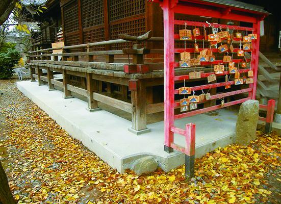 蒲原神社様基礎補強工事